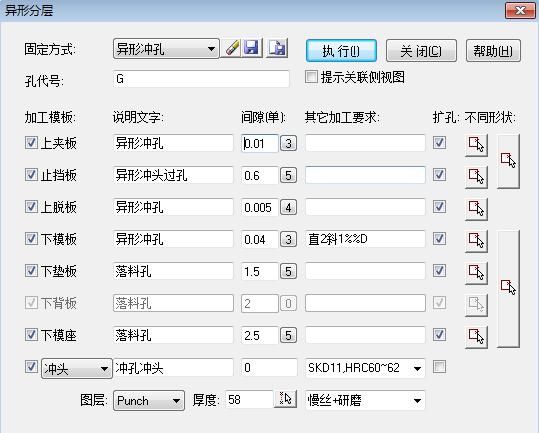 TsaiPress夹板成型冲如何增加防呆C角